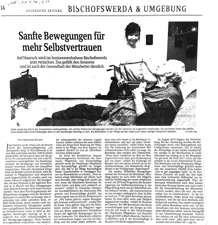 Zeitungsartikel SZ