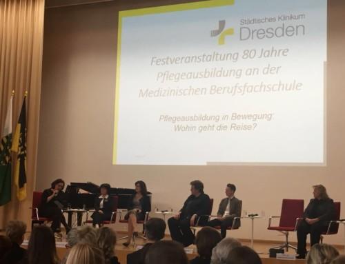 80. Jahre Pflegeausbildung – Festveranstaltung der Medizinischen BFS Dresden